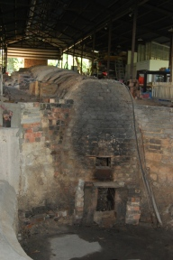 The inactive dragon kiln.
