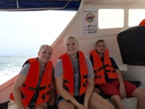 Boatride to Turtle Island